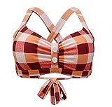 Viloree Retro 1950's Rockabilly Damen Bikini Oberteile...