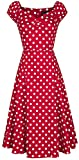 Collectif Clothing Dolores Doll Dress Polka Mittellanges...