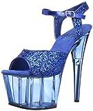 Pleaser ADORE-710GT Blue Glitter/Blue Tinted UK 4 (EU 37)