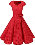 Dresstells Vintage 50er Swing Party kleider Cap Sleeves...