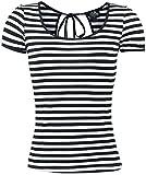Dolly and Dotty Sailor Tee T-Shirt schwarz/weiß XXL