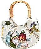 Küstenluder Damen Tasche Peyton Tropical Bamboo Handtasche...
