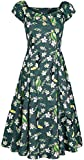 Collectif Clothing Dolores Tropical Bird Doll Dress...