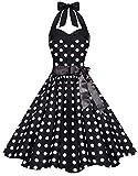 Zarlena Damen 50er Retro Rockabilly Pola Dots Petticoat...