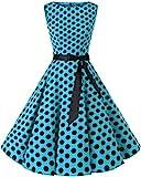 bbonlinedress 50s Retro Schwingen Vintage Rockabilly Kleid...