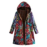 TOPKEAL Jacke Warme Mantel Damen Herbst Winter Sweatshirt...