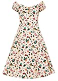 Collectif Clothing Dolores Doll Atomic Flamingo Print...