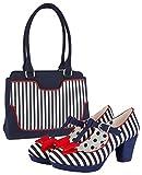 Ruby Shoo Jazz Navy Stripe 9325-37 EU