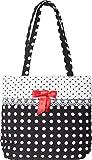 Küstenluder Damen Tasche Veza Polka Dot Punkte Bow Shopper...
