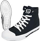 RED by EMP Walk The Line Unisex Sneaker high schwarz/weiß...