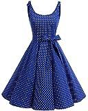 Bbonlinedress 1950er Vintage Polka Dots Pinup Retro...