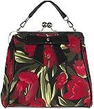Küstenluder Damen Tasche Odilia Mohnblumen Vintage Bag...
