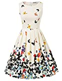 50s Kleider Rockabilly Vintage Retro Kleid cocktailkleider...