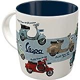 Nostalgic-Art Retro Kaffee-Becher - Vespa - Model Chart,...
