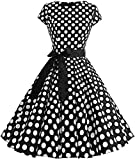 Octopus Damen Rockabilly Kleid Petticoat Partykleid...