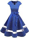 Gardenwed 1950er Vintage Retro Rockabilly Kleider Petticoat...