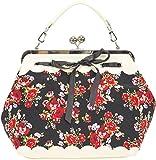 Küstenluder Damen Tasche Dalene Blumen Rosen Handtasche...