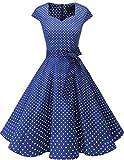 Dresstells Vintage 50er Swing Party kleider Cap Sleeves...