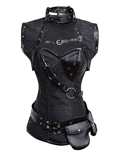 Viktorianische Steampunk Kleider Kostüme für Damen