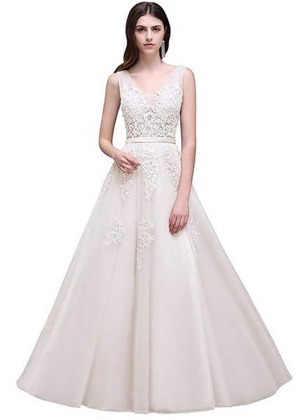 A-Linien Hochzeitskleid Brautkleid A-Linie