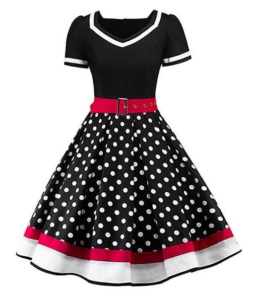 A-Linien Kleid für Mollige XXL große Größen