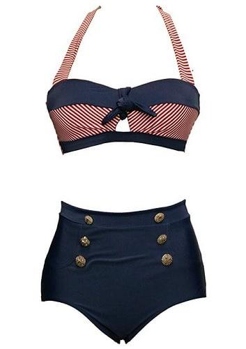 BSLingerie Retro Bikini 50er Jahre Rockabilly Vintage Bikini