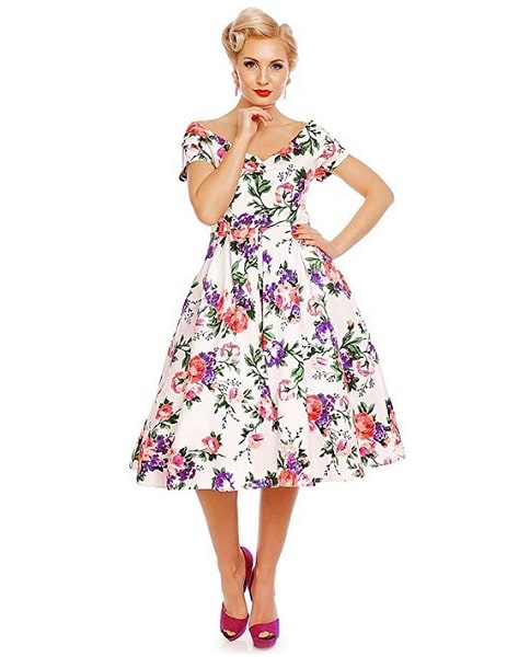 Dolly and Dotty 50er Jahre Rockabilly Vintage Petticoat Kleid