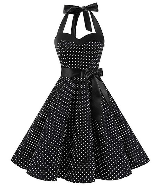 Dresstells 50er Jahre Vintage Petticoat Rockabilly Kleid