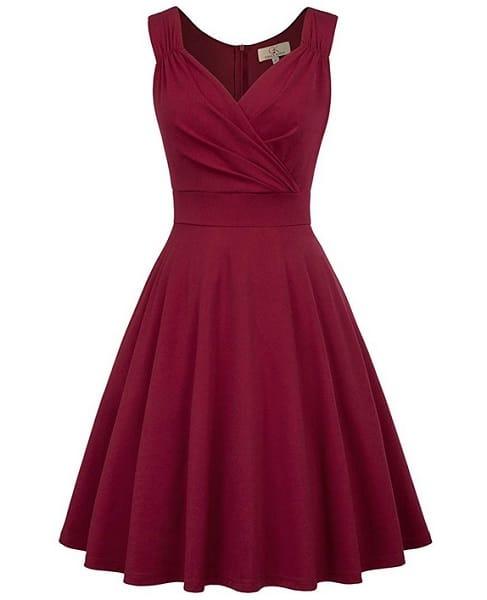 Grace Karin Kleid Damen 50er Jahre Rockabilly VIntage Kleid