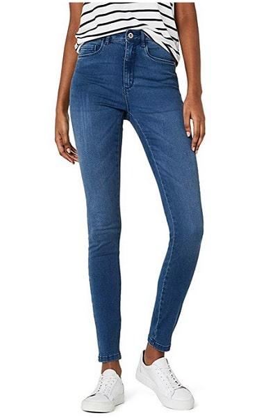 High Waist Hose Damen Jeans Skinny Orsay