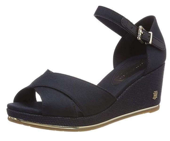 Wedges Schuhe mit Keilabsatz Sandalen Tommy Hilfiger
