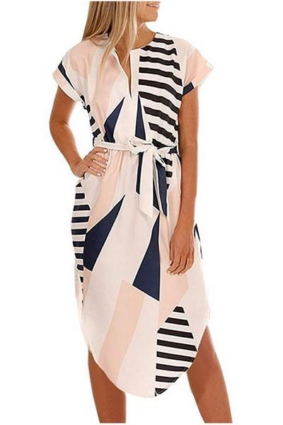 Ecowish Strandkleid lang Damen günstig Sale kaufen