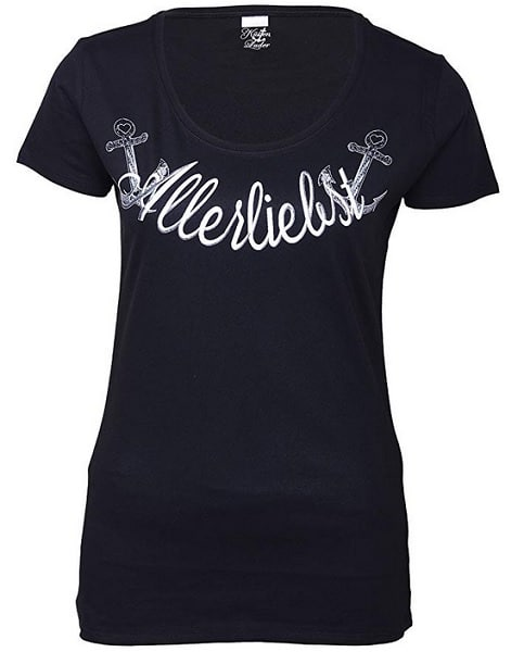 Küstenluder T-Shirt Oberteil Damen