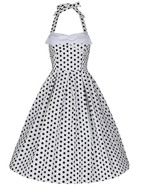 Lindy Bop Kleid Damen Polka Dots