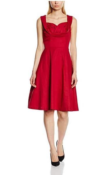 Lindy Bop Kleid Damen rot