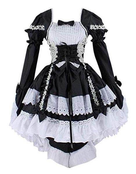 Lolita Kleid japanisches Dienstmädchen Maid