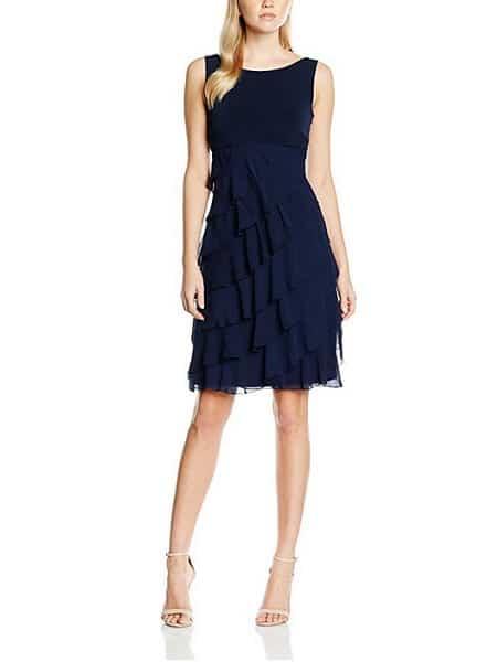 Swing Kleid Outfit Damen 20er Jahre blau
