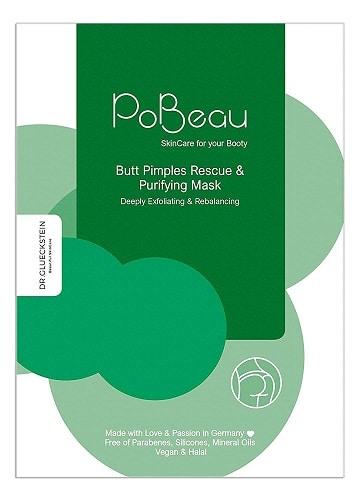 PoBeau Po Maske grün gegen Pickel, Mitesser und unreine Haut
